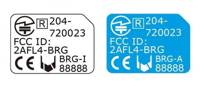 iOS用ブリッジカード(左)とAndroid用ブリッジカード(右)の表示
